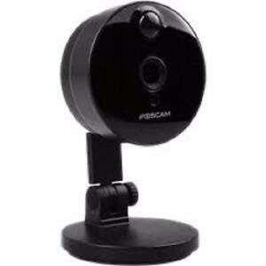 Weekly Promo! Foscam C1 Lite 720P HD Wireless P2P Indoor IP Camera Wide 115 Degree View Angle IP Camera Up to 32G SD Ca