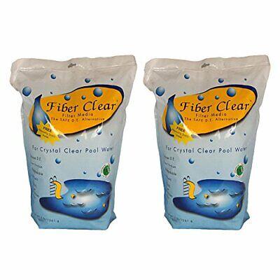 Fiber Clear 4003DC-02 Cellulose Filter Media D.E. Alternative for Swimming Po...