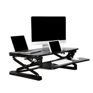 Brand new sit-stand height adjustable standing desk PrimeCables