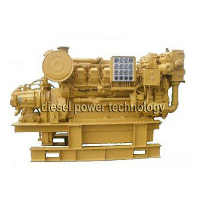 Caterpillar 3512 Remanufactured Diesel Engine Long Block Or 34 Engine