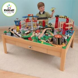Kidkraft airport express/train activity table