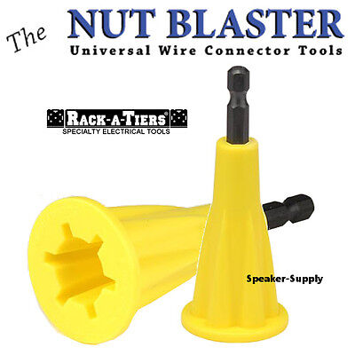 Rack-a-tiers The Nut Blaster Xl Wire Connector Tool Twist Drill Attachment 72101