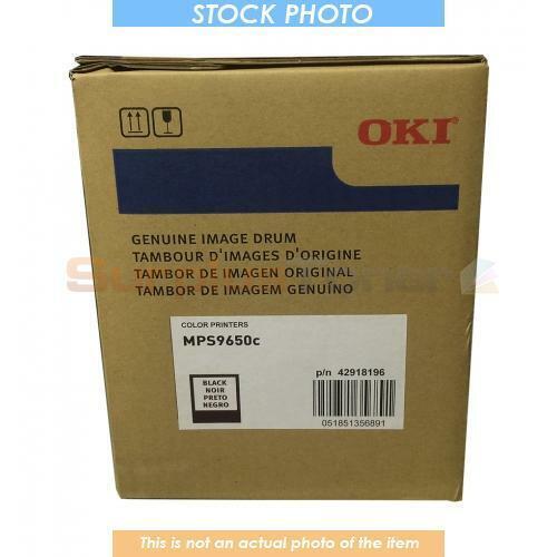 42918196 OKIDATA MPS9650C DRUM BLACK