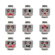 Lego Zombie Head