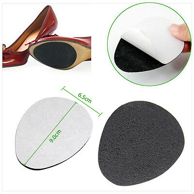 TRIXES Self-Adhesive Anti-Slip Shoe Sole Protectors Grip Pads