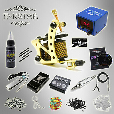 INKSTAR 1 Machine Tattoo Kit Equipment Ink Gun Set Tatoo TKI1 USA on Rummage