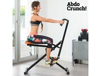 Ab Toner Bench Home Fitness Machine Abdo Abdominal Exerciser Crunch Total