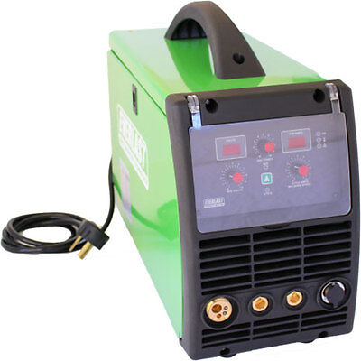 Poweri-mig 200 Dual Voltage 110v220v 200amp Mig Stick Welder Can Do Flux Core