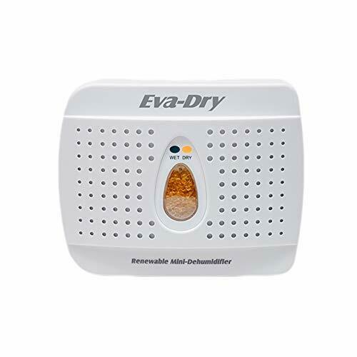 Eva Dry Wireless Mini Dehumidifier. Top Moisture Absorber fo