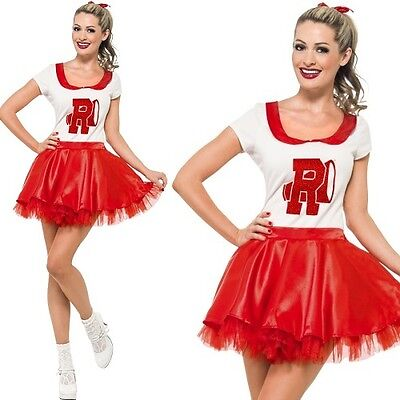 Licensed Grease Sandy Rydell Cheerleader Fancy Dress Costume by Smiffys](Grease Sandy Cheerleader Costume)