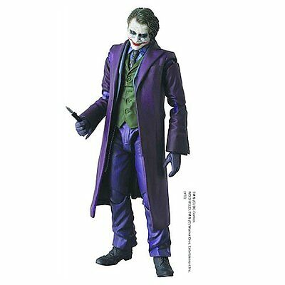 Batman   The Dark Knight   Joker  Ledger  Mafex Action Figure Medicom