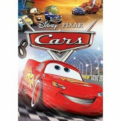 Cars Widescreen (DVD, 2006) New & Sealed Slipcover Included Free Shipping
