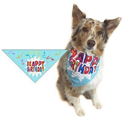 Happy Birthday Dog Bandana - Small Dogs -  Great Dog Gift Idea -  46008-SM - Great Birthday Ideas