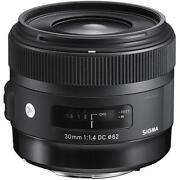 Canon 30mm Lens