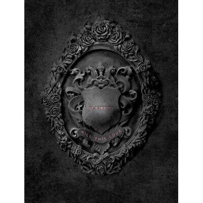 Blackpink-[Kill This Love] 2nd Mini Album Black CD+Poster(On)+PhotoBook+etc+Gift
