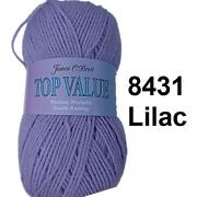 Lilac Double Knitting Wool