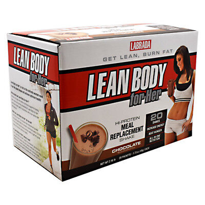 Labrada Nutrition Lean Body for Her-Delicious Soft Chocolate IceCream-20 Packets