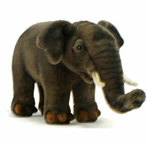 "Hansa Asian Elephant 12"" Long"