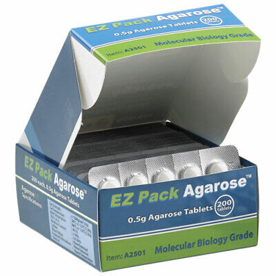 Benchmark Scientific A2501 Ez Pack Agarose Tablets Pack Of 200 100g