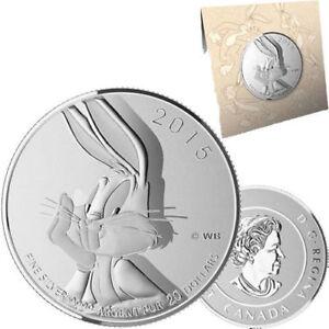 2015 Silver Bugs Bunny Coin