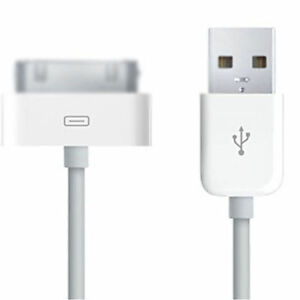 USB Data Sync Charger Cable Lead For iPhone 4 4S 3G 3GS iPod