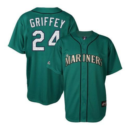 Ken Griffey In Blue And Teal 6