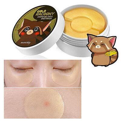 Secret Key Gold Racoony Hydrogel Eye & Spot Patch 90pcs (Eye60p & Spot30p) NEW