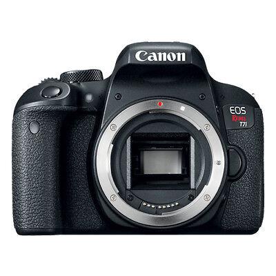 Canon EOS Rebel T7i 24.2MP Digital SLR Camera Congress