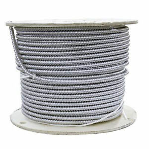 BX armoured electrical cable 14/2, 75-m spool - New