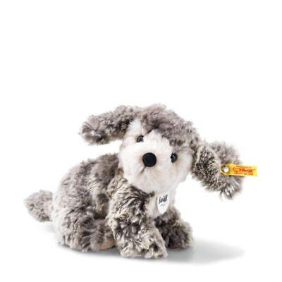 Steiff 083556 Matty Hündchen sitzend 18 cm Kuscheltier Stofftier Hund Neu & Ovp