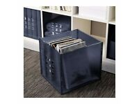 Ikea LEKMAN Box - dark grey