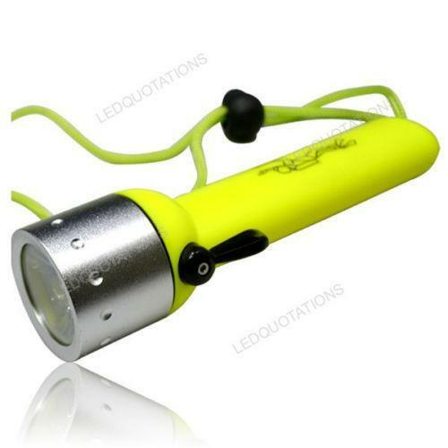CREE Q5 LED Waterproof Diving Flashlight