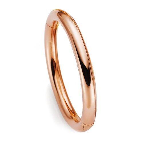 Armreif Armband Armschmuck aus 585 Gold Rosegold, 8mm breit, für Damen