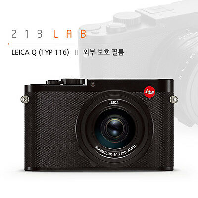 All Body Protection Film for LEICA Q (by 213LAB)