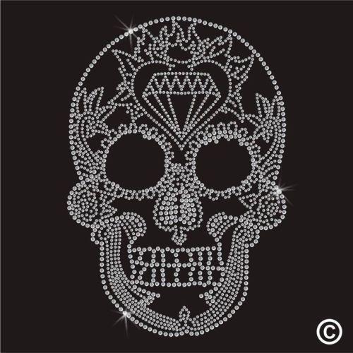 Skull Iron On Transfer Ebay