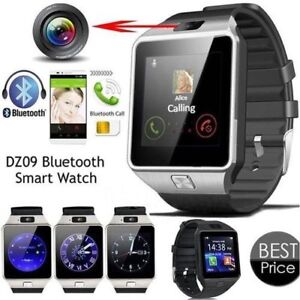 TOUCH HD Smart Watch DZ09 with Camera Bluetooth