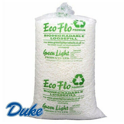15 Cubic Feet of ECOFLO LOOSE FILL Biodegradable/Void Fill/Packing Peanuts