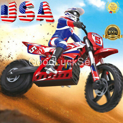 SKYRC Super Rider SR5 1:4 Dirt Bike EP RC Motorcycle Brushless RTR #SK-700001 US