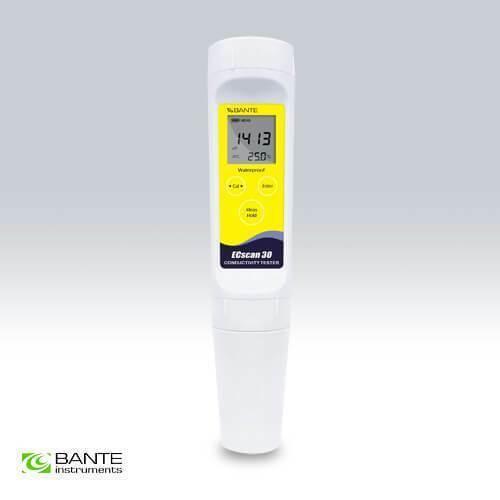 Bante Instruments Ecsan 30 Waterproof Pocket Conductivity TDS Tester Meter