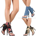 Over-the-Knee Women's Stiletto Sock Boots