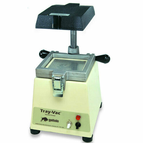 BUFFALO TRAY-VAC VACUUM FORMER 120V AC LIGHT WEIGHT SMALL POWERFUL 80165