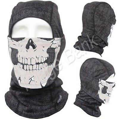 Balaclava Bg - Skull / Full Face Mask Warm Warmers Cold Winter Outdoor Sports