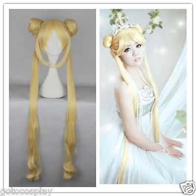 Girl Sailor Moon Cosplay Costume Wigs Tsukino Usagi And Princess Serenity Wig