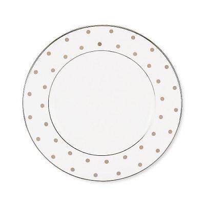 LENOX KATE SPADE New York Larabee Road  GOLD Dots ~ SALAD  Plate NEW