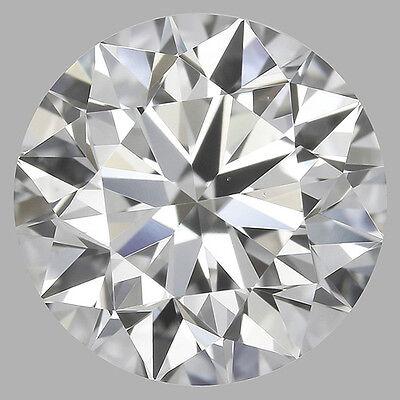 2.01 carat Loose Round cut Diamond w/ GIA certificate H color SI1 clarity