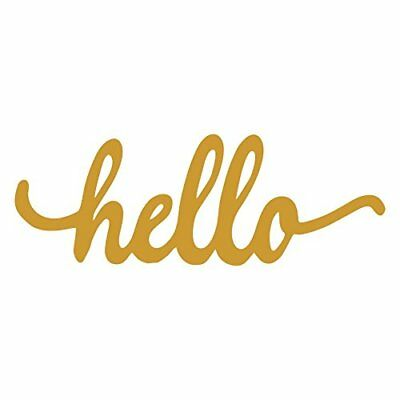 Hello Wood Sign Home Décor Wall Art Unfinished 8