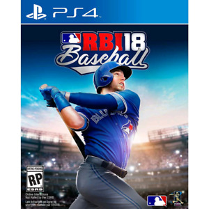 MLB RBI18 for PS4 BRAND NEW UNOPENED