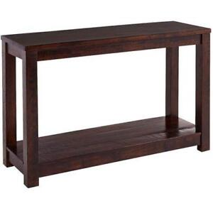 New Hometrend  Console Table Espresso Finish  (pick Up) PU6