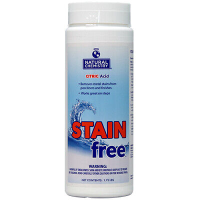 Pool Stain Remover - Natural Chemistry Stain Free Stain Remover For Swimming Pool 1.75 Lbs.
