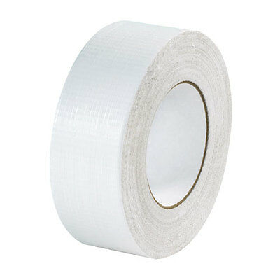 2 Rolls White Duct Tape Premium Quality Water Resistant 11120